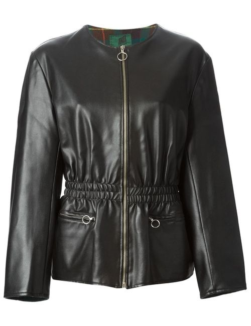 JEAN PAUL GAULTIER VINTAGE | Женское Чёрный Faux Leather Fitted Jacket