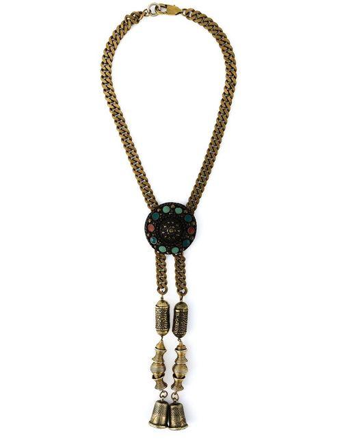 JEAN PAUL GAULTIER VINTAGE | Женское Красный Thimbles Pendant Necklace