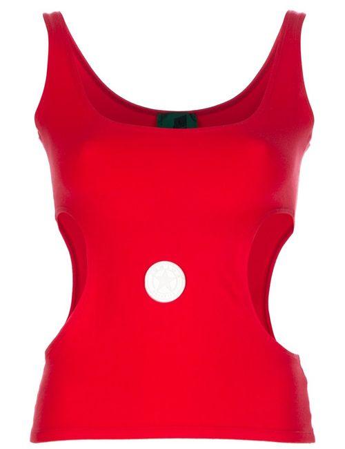 JEAN PAUL GAULTIER VINTAGE | Женское Красный Cut Out Detail Vest