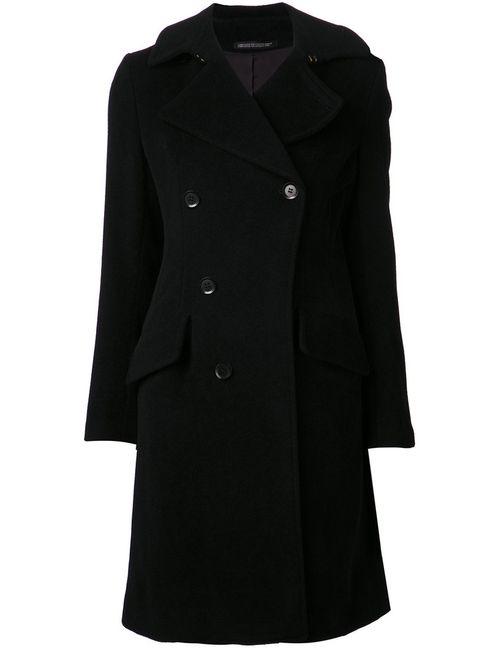 Yohji Yamamoto   Женское Чёрное Двубортное Пальто