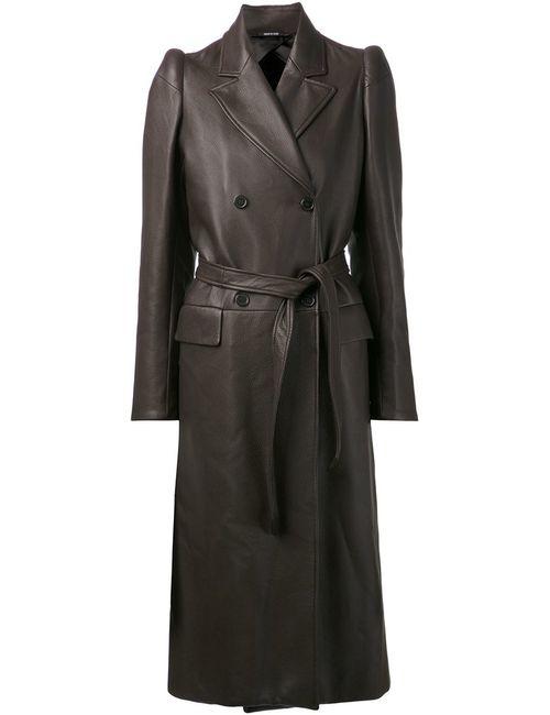 Maison Margiela | Женское Коричневое Двубортное Пальто