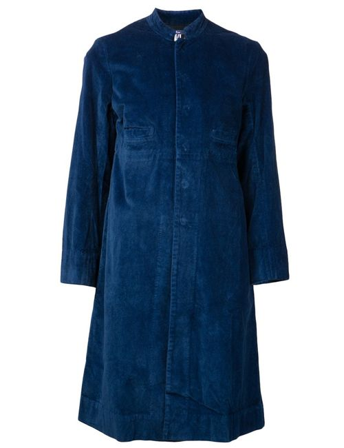 Dosa | Женское Синее Длинное Пальто