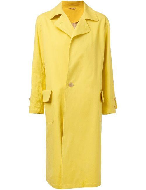 ARTS & SCIENCE | Женское Жёлтое Однобортное Пальто