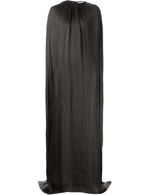 Maison Rabih Kayrouz | Женское Чёрное Струящееся Платье-Пончо