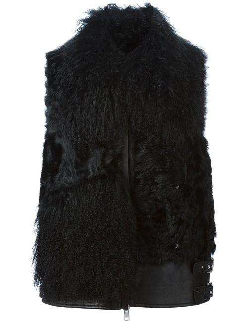 Sacai | Женский Чёрный Жилет На Молнии