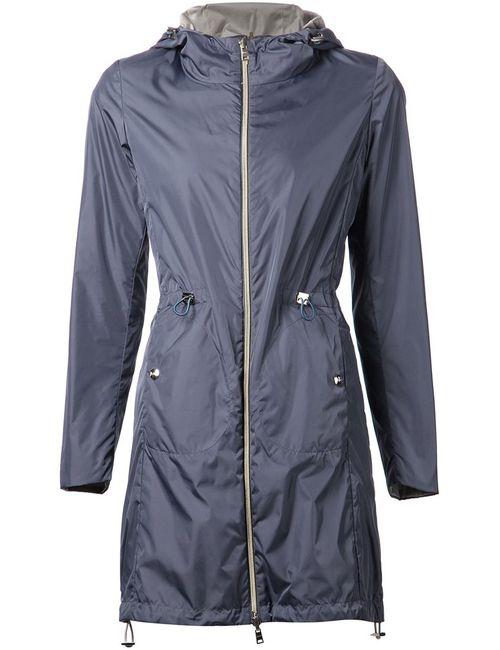 Herno | Женская Синяя Спортивная Куртка С Капюшоном