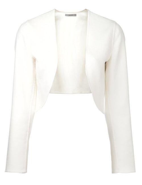 DUSAN | Женское Cashmere Bolero Jacket From Featuring A Collarless