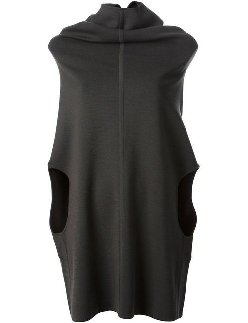 Rick Owens | Женское Зелёный Funnel Collar Sweater