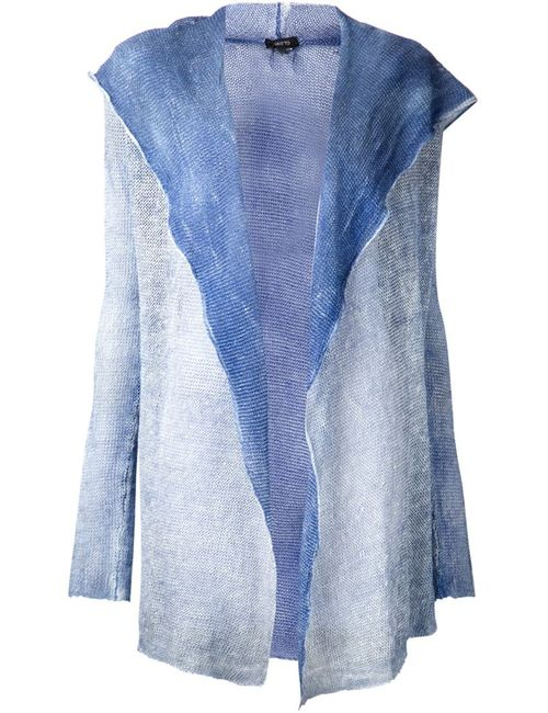Avant Toi | Женское Linen Draped Hooded Cardigan From