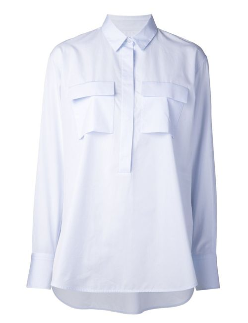 LAREIDA | Женская Синяя Рубашка Corazon