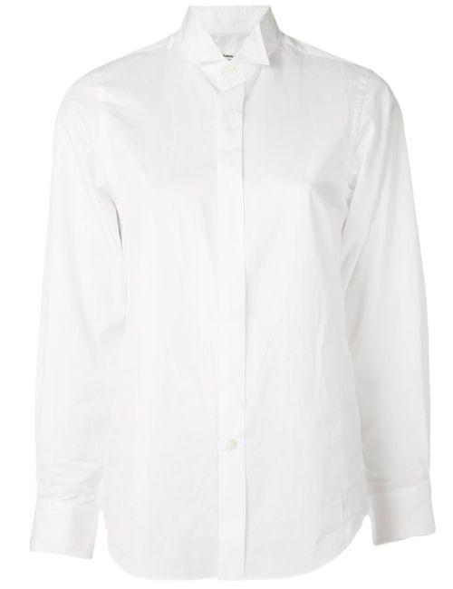 JUNYA WATANABE COMME DES GARCONS   Женская Белая Повседневная Рубашка