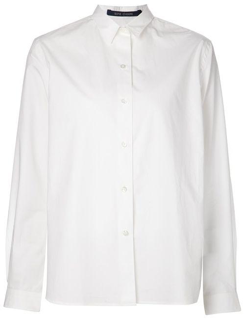 Sofie D'Hoore | Женская Белая Классическая Рубашка