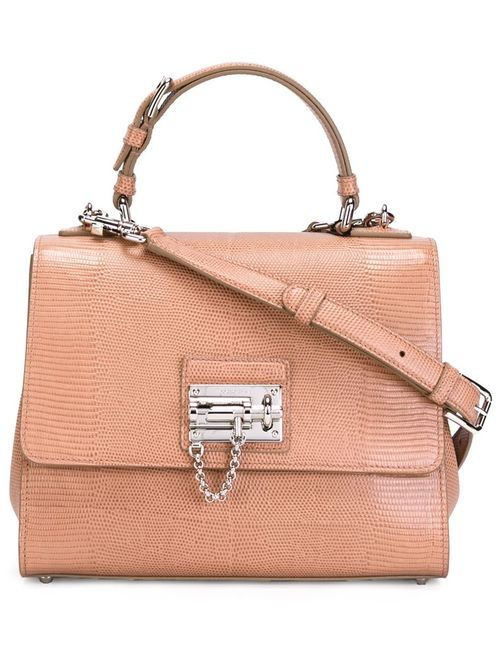 Dolce & Gabbana | Женская Розовая Средняя Сумка-Тоут Rosalia