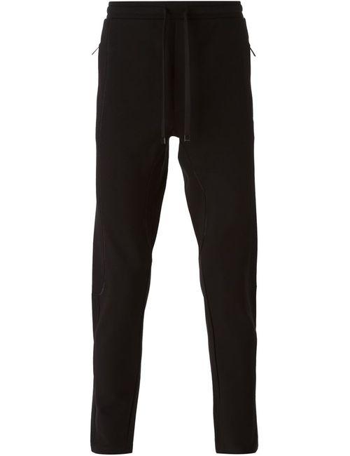 Dolce & Gabbana | Мужские Чёрные Спортивные Брюки С Видным Швом