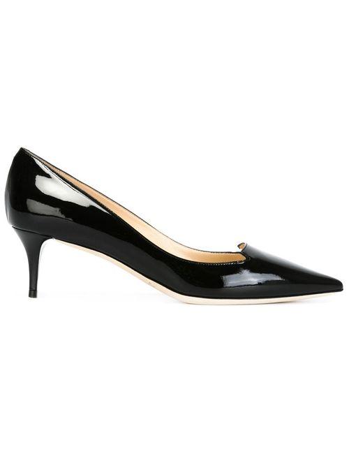 Jimmy Choo | Женские Чёрные Туфли На Низком Каблуке Allure