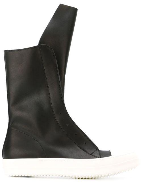 Rick Owens | Мужское Чёрный Laceless Sneaker Boots