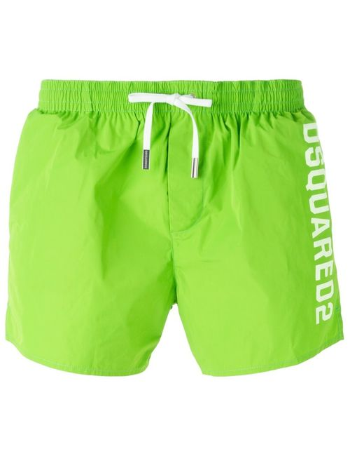 Dsquared2 | Мужское Logo Swim Shorts From Featuring An Elasticated