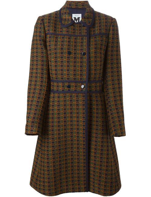 Missoni | Женское Жёлтое Двубортное Пальто