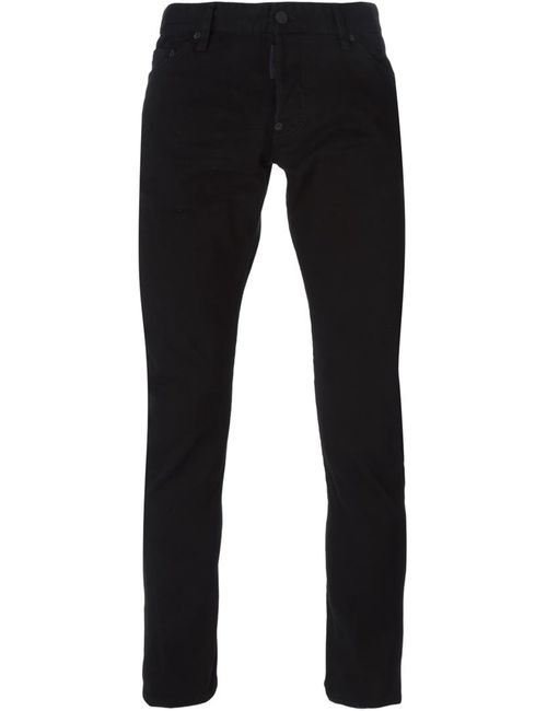 Dsquared2 | Мужское Чёрный Sexy Twist Jeans