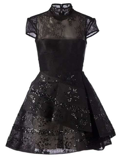 ALEX PERRY | Женское Seana Lace Mini Dress From Featuring A
