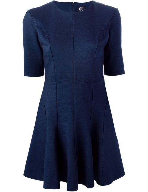 Mcq Alexander Mcqueen | Женское Синее Расклешённое Платье