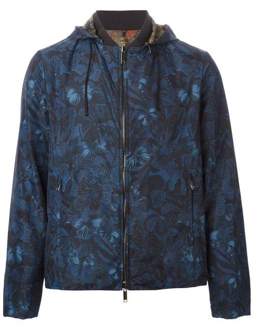 Valentino | Мужское Синий Camubutterfly Jacket