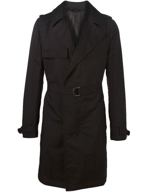 Lanvin | Мужское Чёрный Belted Trench-Coat