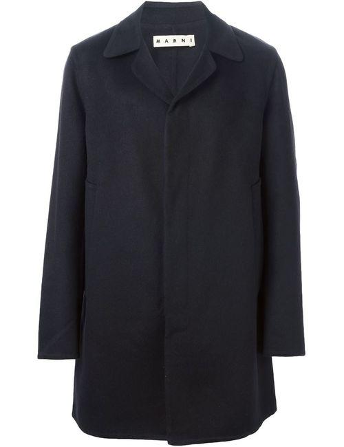 Marni | Мужское Чёрное Классическое Пальто