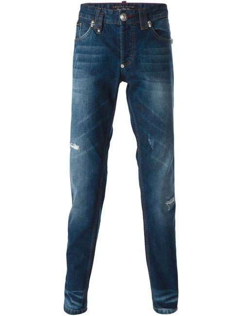 Philipp Plein | Мужское Синий Lie Straight Leg Jeans