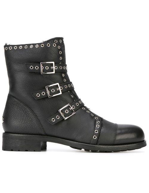 Jimmy Choo | Женские Чёрные Ботинки Darkle