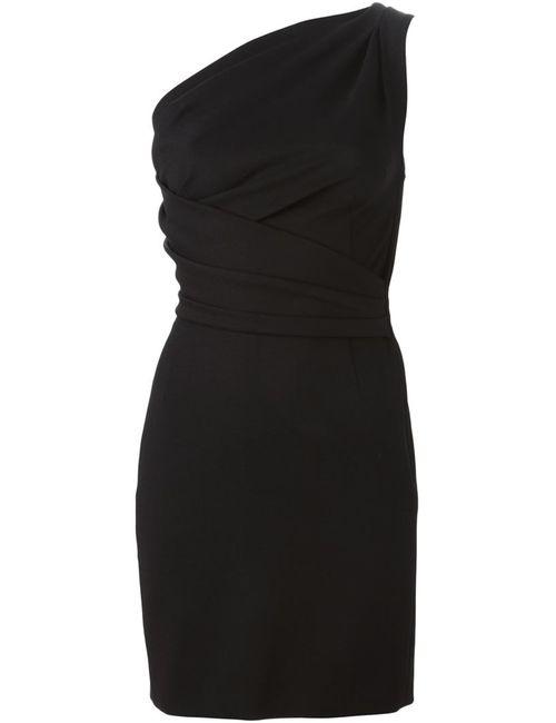 Dsquared2   Женское Черный Драпированное Короткое Платье