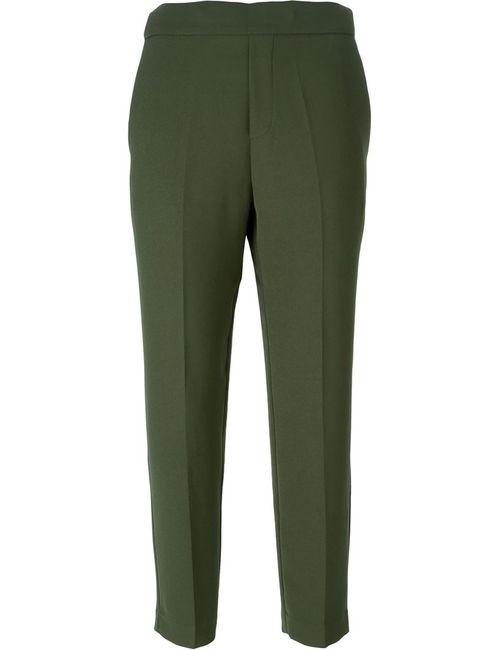 P.A.R.O.S.H. | Женские Зелёные Укороченные Брюки