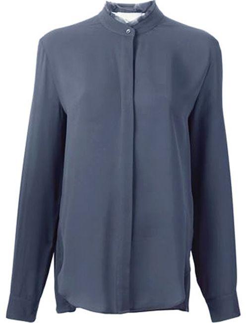 3.1 Phillip Lim | Женская Серая Рубашка С Воротником-Стойкой