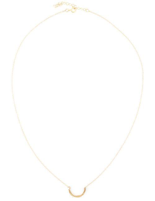 BY BOE | Женское Серебристый Twin Curve Necklace