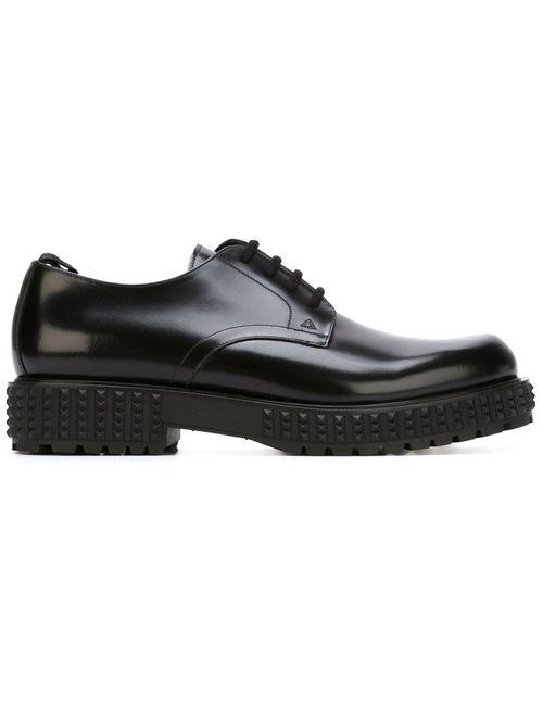 Valentino Garavani | Мужское Чёрный Punky-Ch Derby Shoes