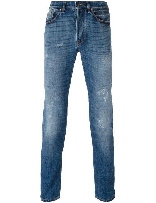 Valentino | Мужское Синий Slim Fit Jeans