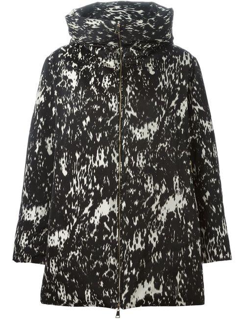 Moncler | Женская Чёрная Стеганая Куртка Torcy