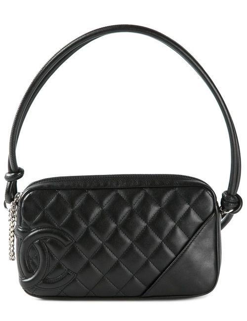 Chanel Vintage | Женская Черный Стеганая Сумка
