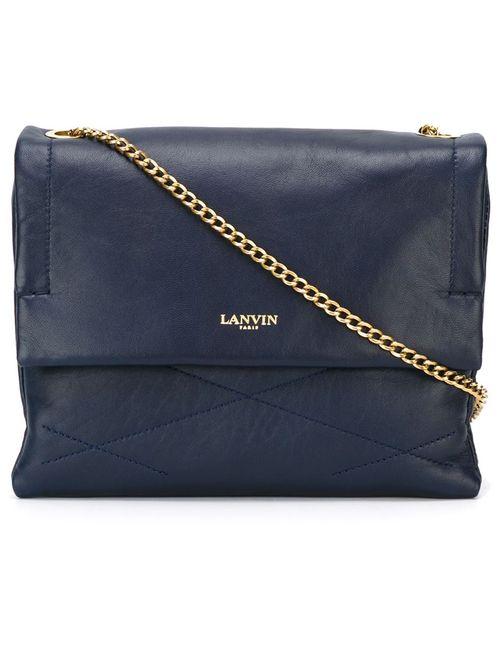 Lanvin | Женская Синяя Сумка Sugar На Плечо