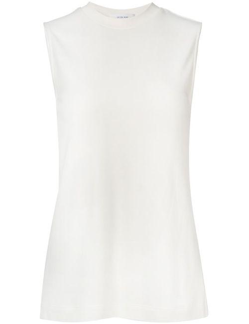 LE CIEL BLEU | Женская Белая Блузка С Оборкой