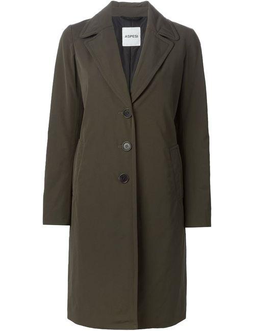 Aspesi | Женское Зелёное Пальто Lady Lisca