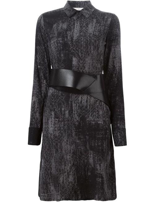 A.F.Vandevorst | Женское Серое Платье-Рубашка 152 Debutante