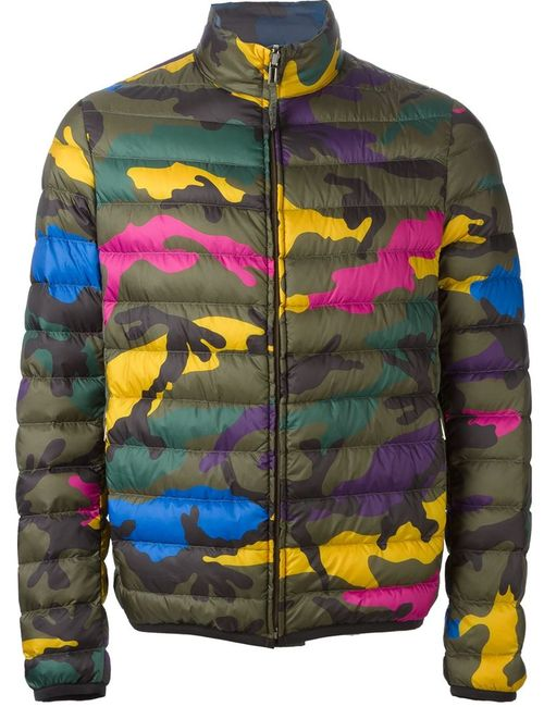Valentino | Мужское Многоцветный Reversible Camouflage Jacket