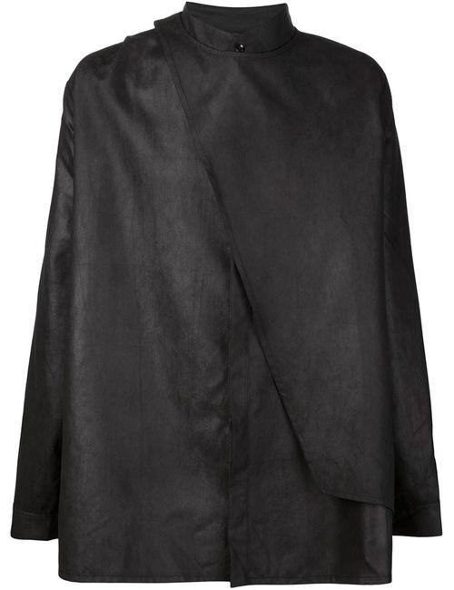 ADA + NIK | Мужская Черный Рубашка Charcoal