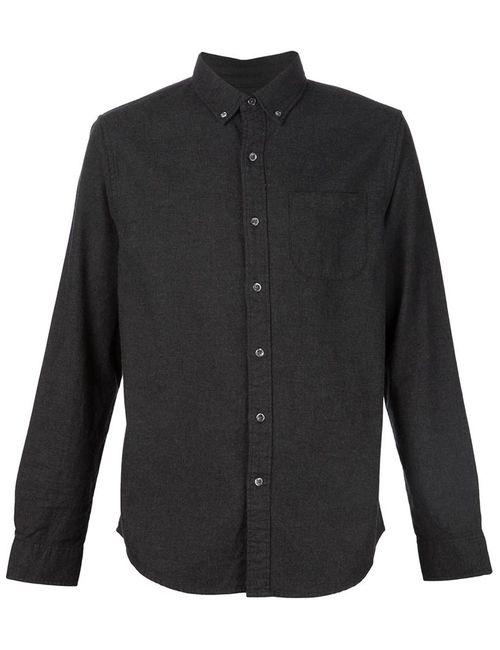 OUTERKNOWN | Мужская Серая Фланелевая Рубашка