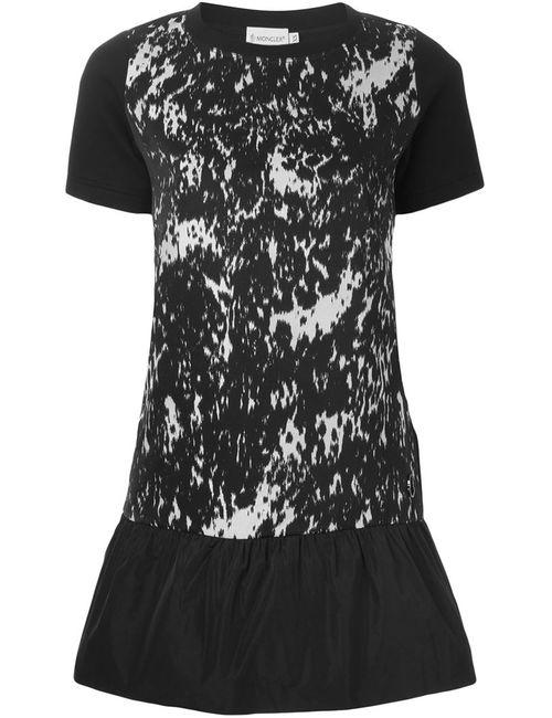 Moncler | Женское Чёрный Peplum T-Shirt