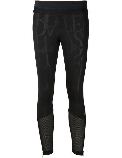 Adidas By Stella  Mccartney | Женские Чёрные Длинные Леггинсы Run
