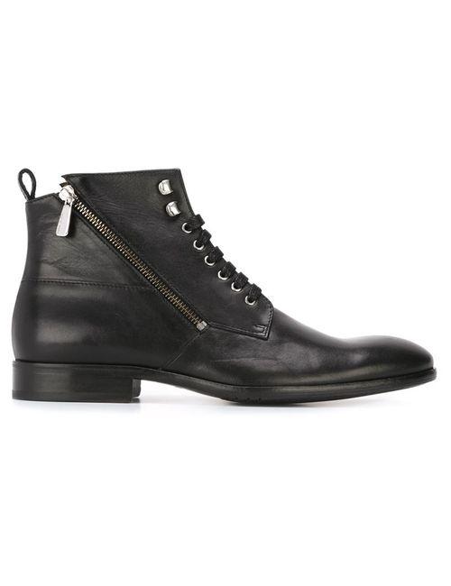 Paul & Joe | Мужские Чёрные Ботинки На Шнуровке Solda