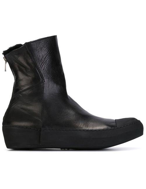 LOST AND FOUND | Мужские Чёрные Ботинки На Молнии