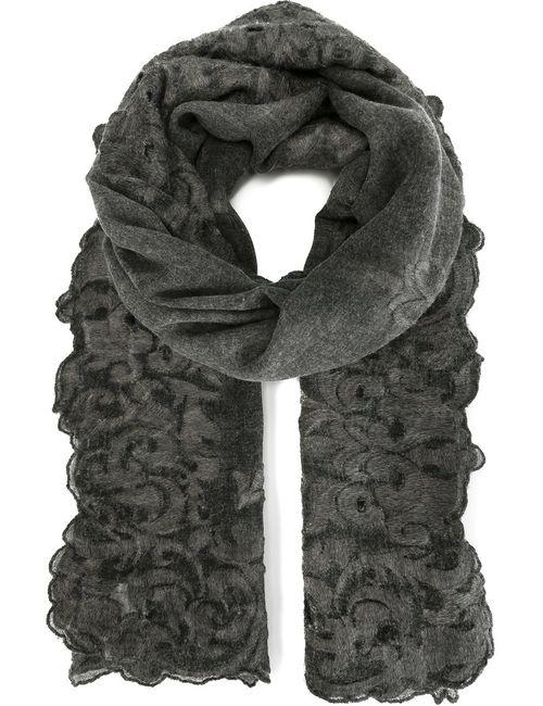Faliero Sarti | Женское Серый Knit Detail Scarf
